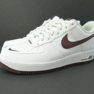 Nike Air Force One 1 Low '07 LV8 White Night Maroo